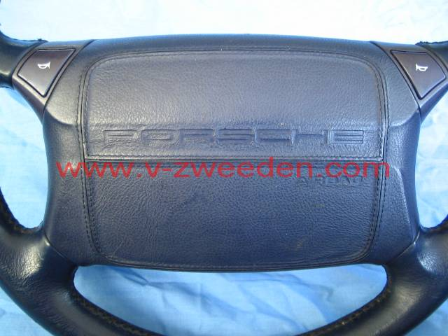 airbag unit leather blue