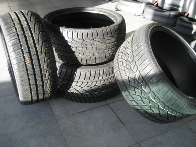 Winter tyres for Porsche